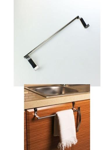 Practika Dolap Kapağı Metal Havlu Askılığı 33 cm Renkli